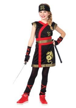Disfraz de guerrera Ninja para niñas