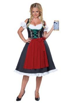Disfraz de Fraulein Oktoberfest para mujer