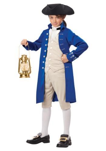 Disfraz infantil de Paul Revere