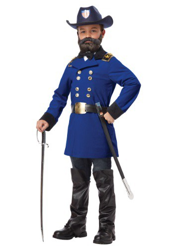 Disfraz infantil del General Ulysses S. Grant
