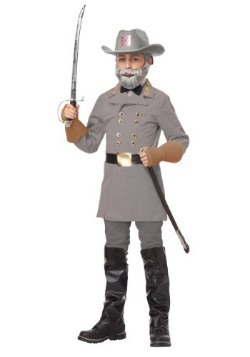 Disfraz infantil del General Robert E. Lee