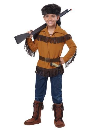 Disfraz de Davy Crockett para niños