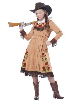 Disfraz de Annie Oakley para niña