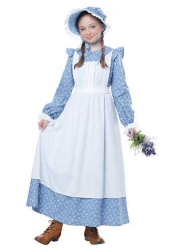 Disfraz de niña pionera