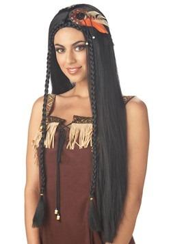 Peluca princesa india atractiva para mujer