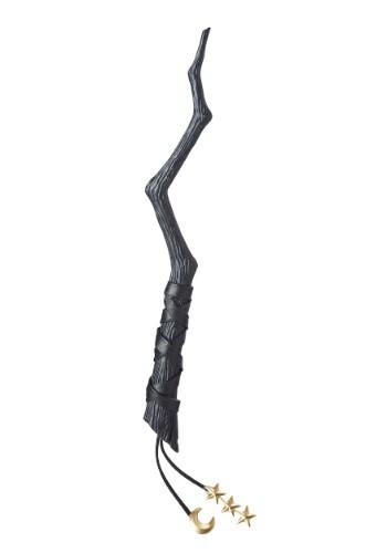 Varita de bruja negra