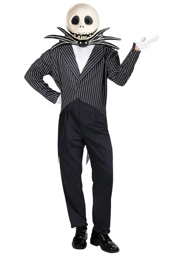 Disfraz de Jack Skellington para adulto