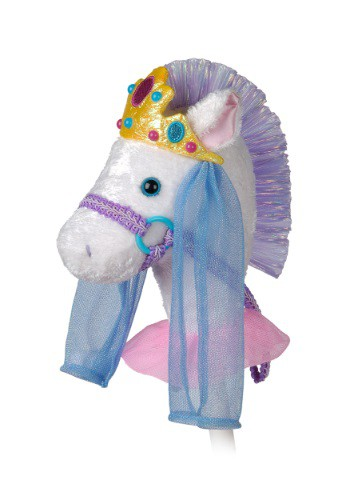"Caballo de palo 33"" Pony princesa cabriolera elegante"