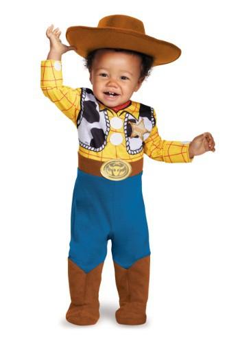 Disfraz de Woody para bebé deluxe