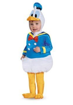Disfraz de bebé Prestige de Pato Donald