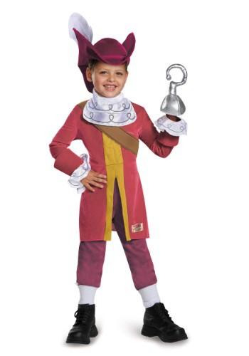 Disfraz de lujo del capitán Garfio para niños pequeños