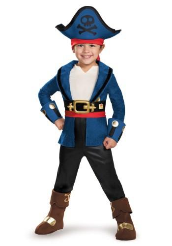 Disfraz de capitán Jake Deluxe para niños pequeños