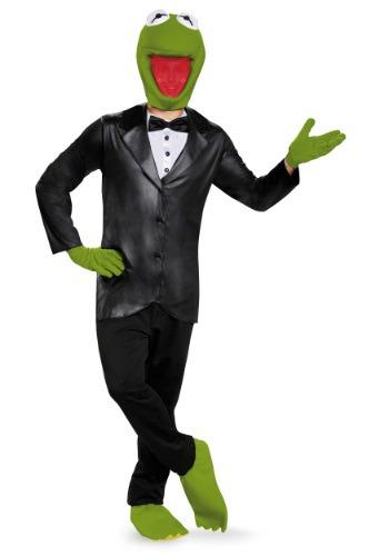 Disfraz de lujo de Kermit, la rana para adulto