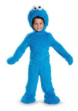 Disfraz de felpa monstruo comegalletas bebés/niños pequeños