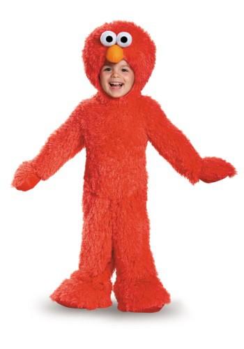 Disfraz de felpa Elmo para bebé/niño pequeño