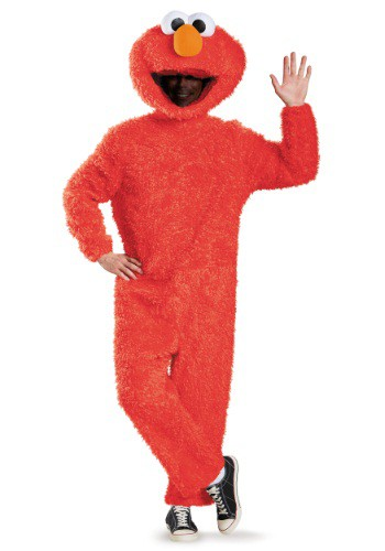 Disfraz de Elmo Prestige para adulto