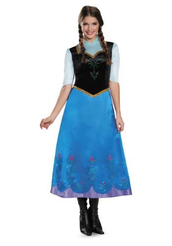 Disfraz de Anna Deluxe de Frozen