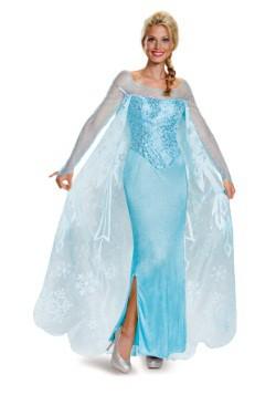 Disfraz de Elsa Prestige de Frozen para adulto
