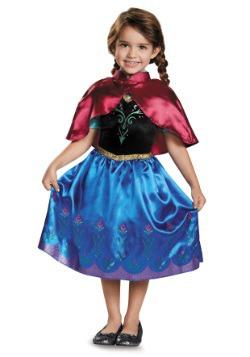 Vestido clásico para niños pequeños de Anna de Frozen