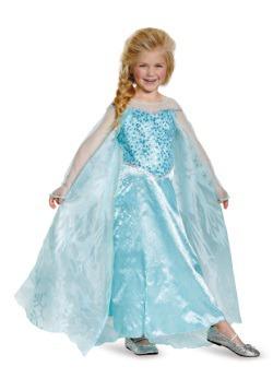 Disfraz de Elsa Prestige de Frozen para niñas