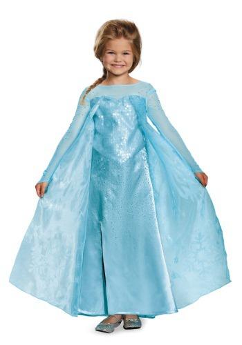 Disfraz de Elsa Ultra Prestige de Frozen para niñas