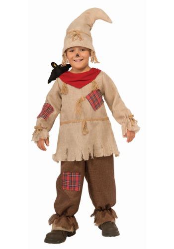 Disfraz de espantapájaros amistoso para niño