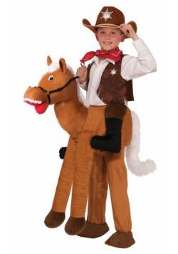 Disfraz infantil de monta un caballo