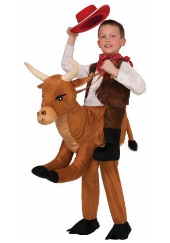 Disfraz infantil de monta un toro