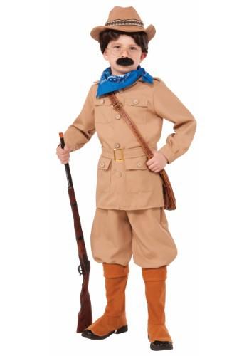 Disfraz de Theodore Roosevelt para niño