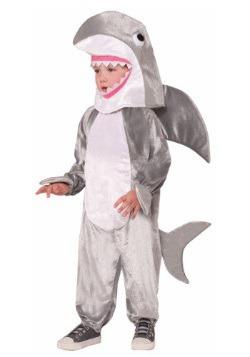 Disfraz infantil de tiburón blanco