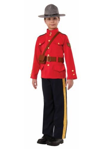 Disfraz de policía montado canadiense para niño
