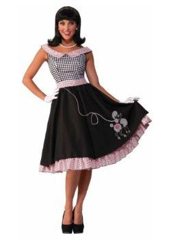 Disfraz de Cutie a cuadros para mujer de los años 50