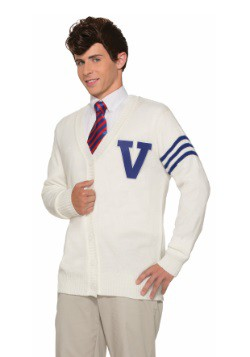 Disfraz de suéter Varsity para hombre