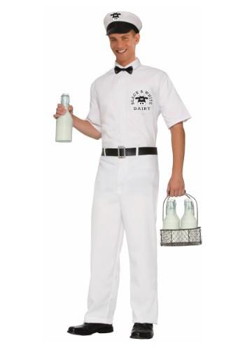 Disfraz de lechero vintage para hombre