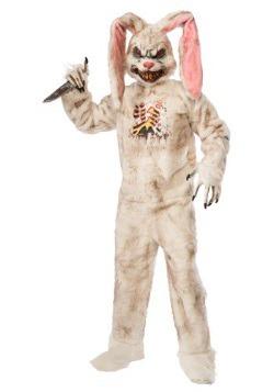 Disfraz de conejo muerto para adulto