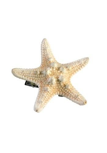 Pasador de cabello de estrella marina para sirena