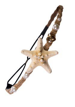 Diadema de estrella de mar de sirena