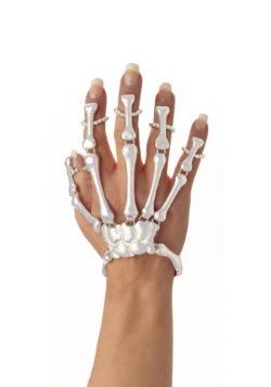 Pulsera de mano de esqueleto