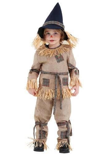 Disfraz de espantapájaros tonto para niños pequeños