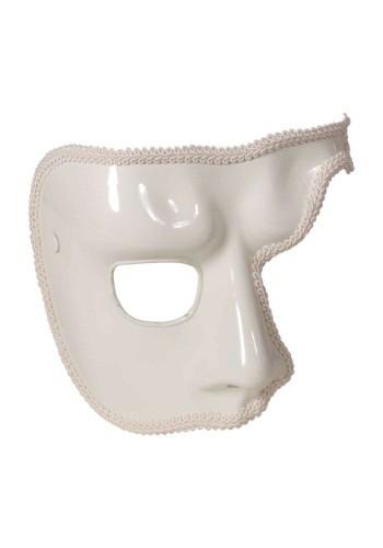 Máscara blanca de fantasma para adulto