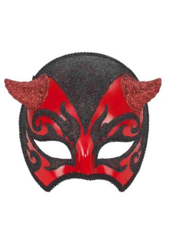 Máscara Veneciana de diablo para adulto