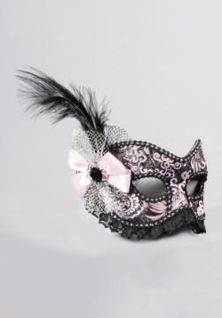 Showgirl veneciano adulto con máscara de encaje