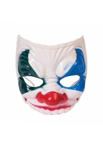 Máscara de payaso del mal para adulto