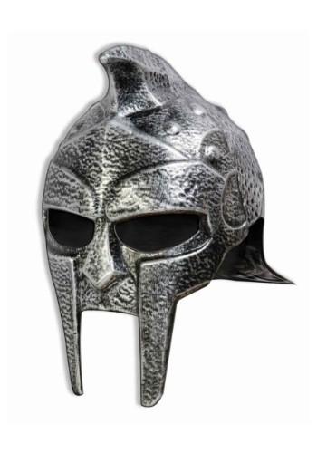 Casco de gladiador plateado para adulto