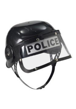 Casco infantil de motín de policía