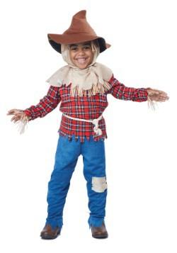 Disfraz espantapájaros de tiempo de cosecha niños pequeños