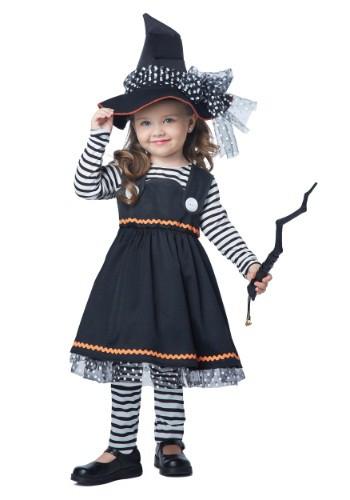 Disfraz de brujita para niños pequeños