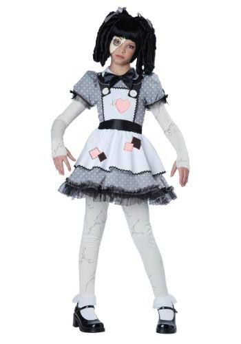 Disfraz de muñeca embrujada para niñas