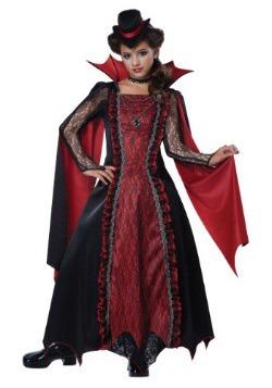 Disfraz de vampiro victoriano para niñas