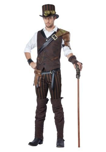 Disfraz de aventurero Steampunk para adulto